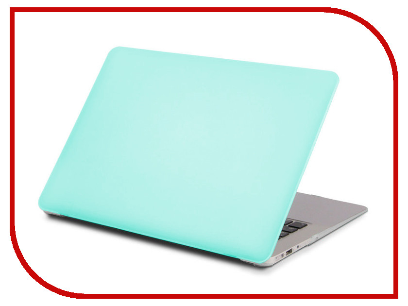 Аксессуар Чехол 13.3-inch Gurdini для APPLE MacBook Retina 13 Matt Turquoise
