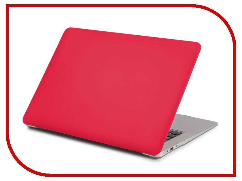 Аксессуар Чехол 13.3-inch Gurdini для APPLE MacBook Retina 13 Matt Crimson