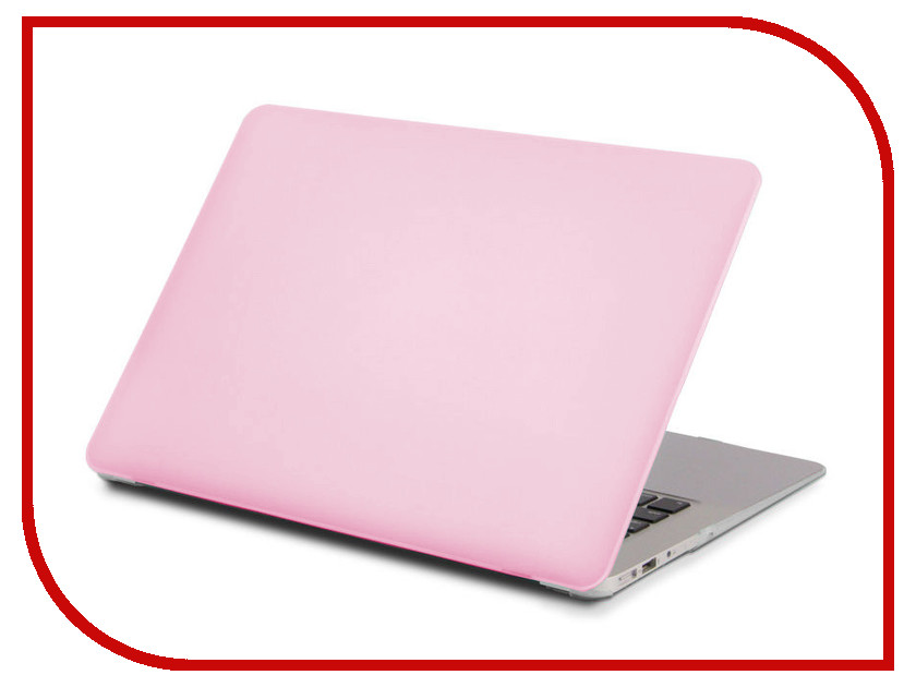 Аксессуар Чехол 13.3-inch Gurdini для APPLE MacBook Retina 13 Carbon Pink