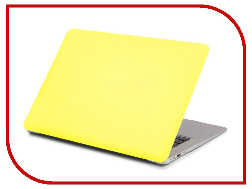 Аксессуар Чехол 13.3-inch Gurdini для APPLE MacBook Retina 13 Matt Acid Yellow