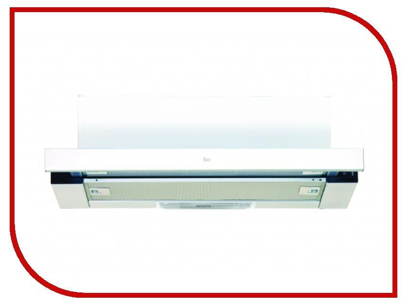 Кухонная вытяжка Teka LS 60 White Glass кухонная вытяжка teka dvt 680 b black