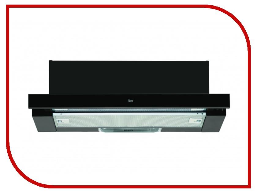 Кухонная вытяжка Teka LS 60 Black Glass вытяжка teka ls 60 white glass
