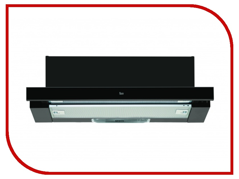 Кухонная вытяжка Teka LS 60 Black Glass кухонная вытяжка teka dvt 680 b black