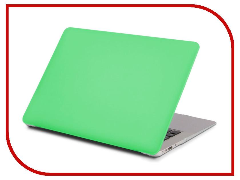 Аксессуар Чехол 15.0-inch Gurdini для APPLE MacBook Retina 15 Matt Green