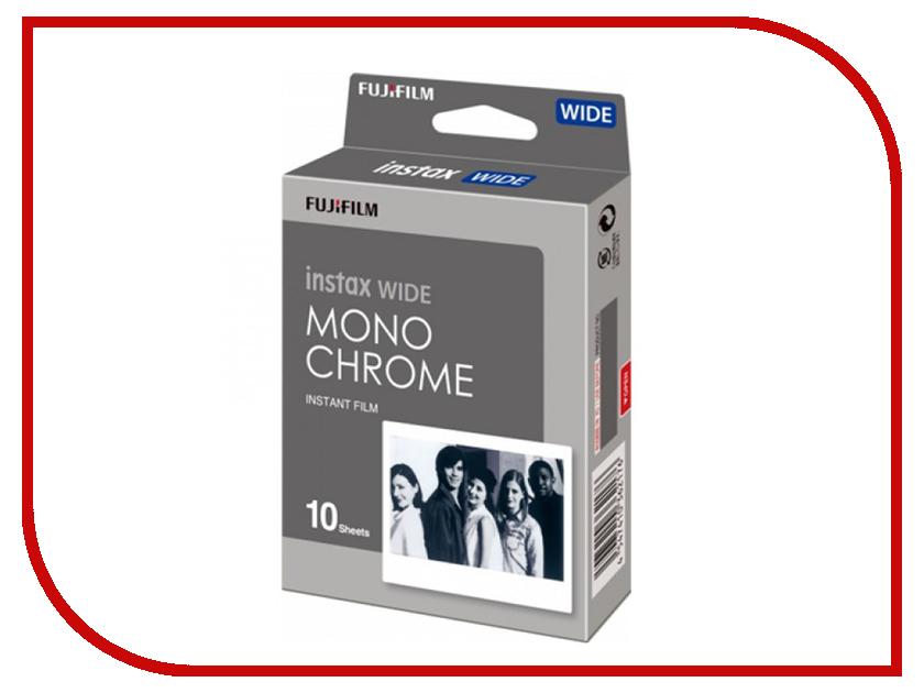 Fujifilm Monochrome 10/1PK для Instax Wide 300 / 210 16564101 fujifilm wide glossy 10 pk для instax 210