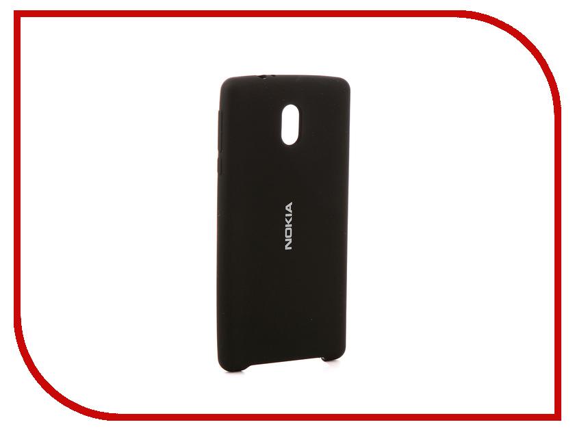 Аксессуар Чехол Nokia 3 Gurdini Silicone Cover Black nokia 6700 classic illuvial