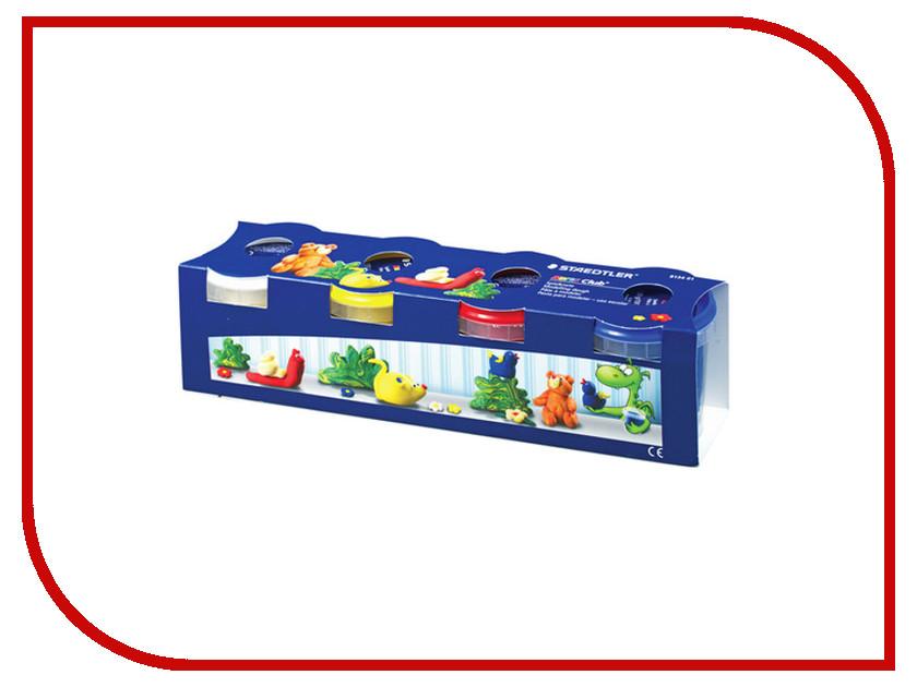 Набор для лепки Staedtler пластилин 4 цвета 520g 104325 набор для лепки фантазер глина голубая 217011