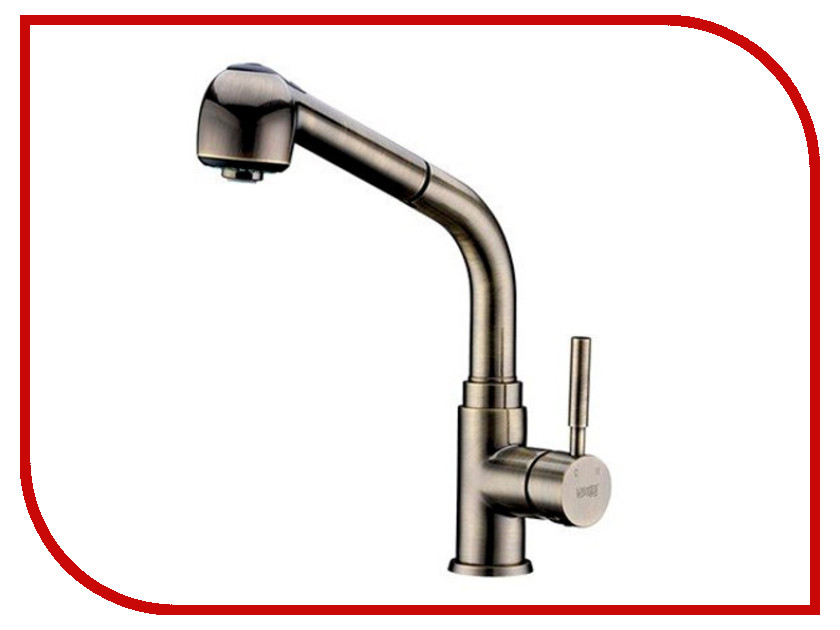 Смеситель WasserKRAFT A8237 Light Bronze 9061396 adriatica 8237 1263q