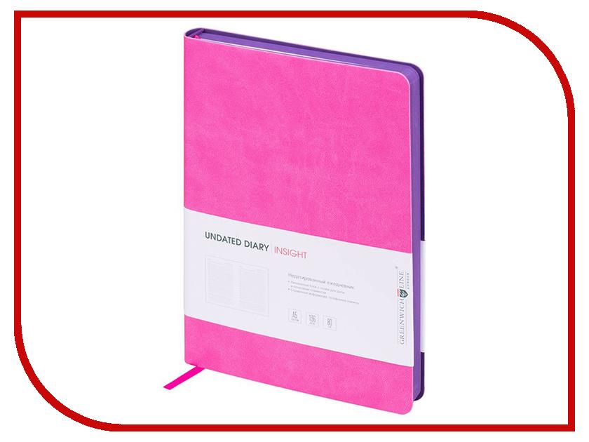 Ежедневник Greenwich Line A5 Insight Pink Purple ENA5CR-11179 greenwich line дневник школьный mercury цвет красный