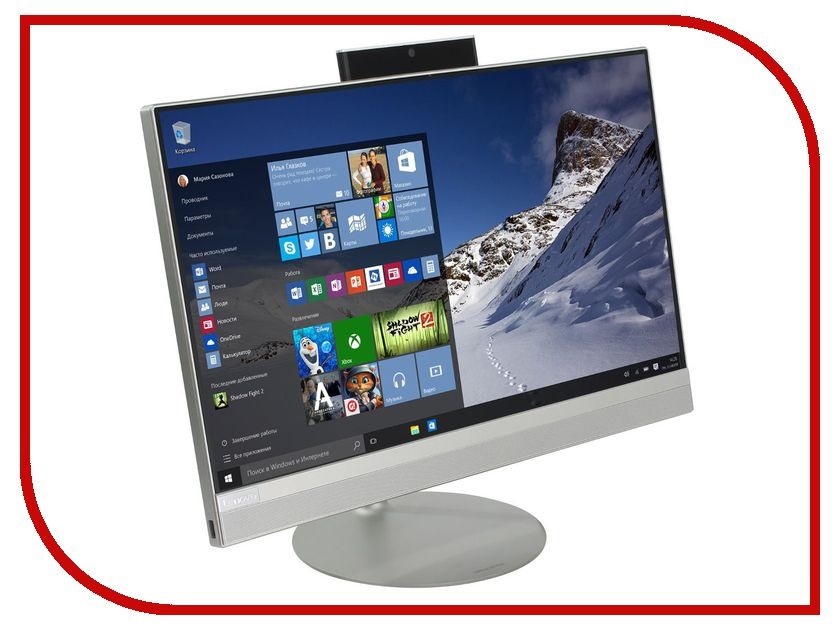 Моноблок Lenovo IdeaCentre AIO 520-22IKU MS Silver F0D50056RK (Intel Core i5-7200U 2.5 GHz/4096Mb/1000Gb/DVD-RW/Intel HD Graphics/Wi-Fi/Bluetooth/Cam/21.5/1920x1080/Windows 10 Home 64-bit) моноблок lenovo ideacentre aio 520 22ikl ms silver f0d4000wrk intel core i3 7100t 3 4 ghz 4096mb 1000gb dvd rw intel hd graphics wi fi bluetooth cam 21 5 1920x1080 windows 10 home 64 bit