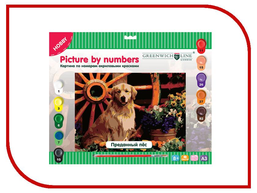 Набор Greenwich Line Преданный пёс A3 KT_10025