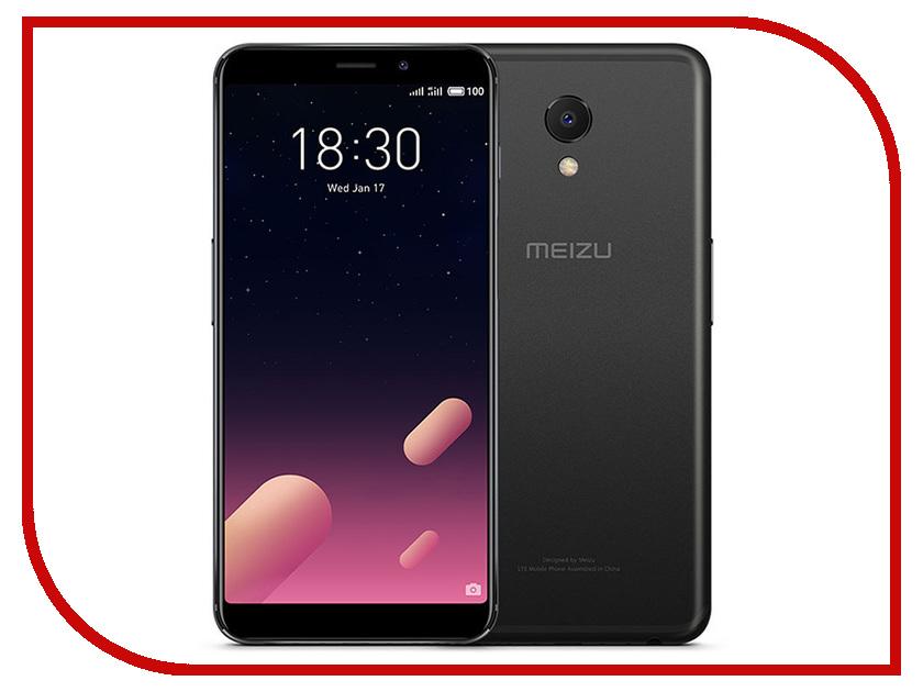 Сотовый телефон Meizu M6S 32Gb Black смартфон meizu m6s 32gb blue