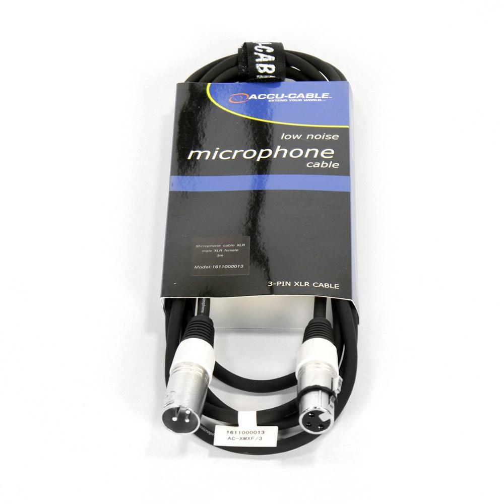Шнур микрофонный American Dj AC-XMXF/3 XLR/XLR 3m цена