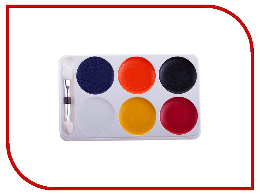 Краски для грима Фабрика Фантазий 6 цвета 800-41265/57906