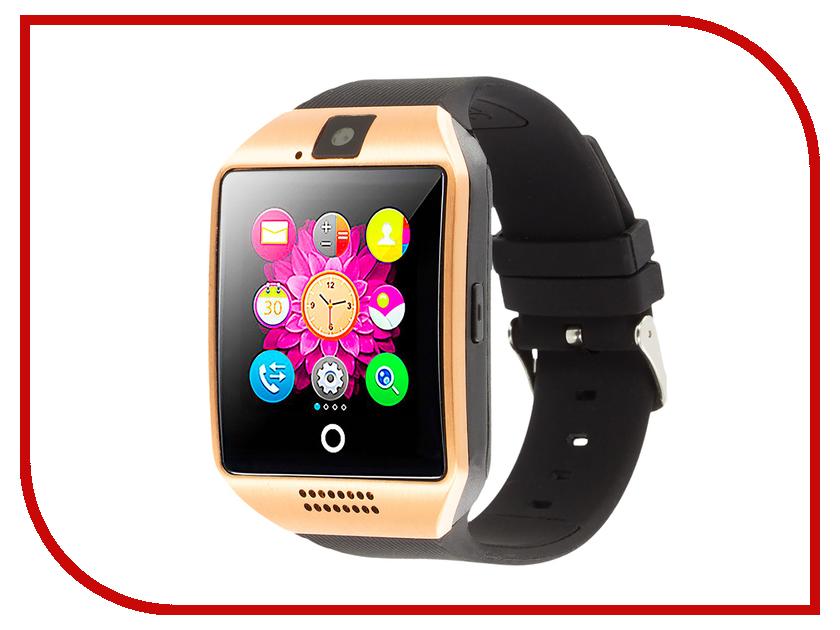 Умные часы Smart Watch Q18 Gold smart baby watch q80 умные детские часы с gps голубые