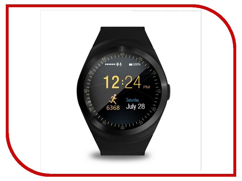 Zakazat.ru: Умные часы Smart Watch Y1 Black