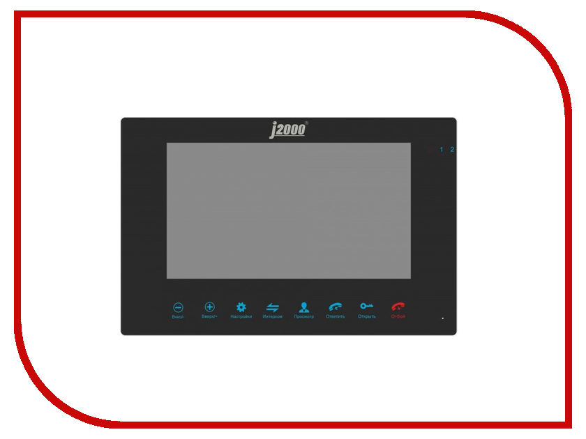 цена на Видеодомофон J2000 DF-Вероника DVR Black