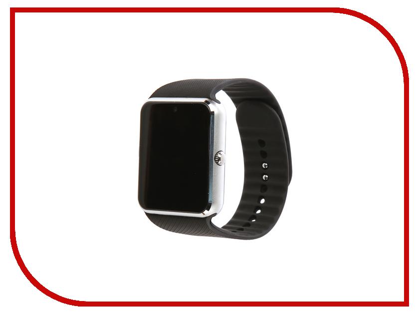 Умные часы Smart Watch F01 Silver smart baby watch g72 умные детские часы с gps оранжевые