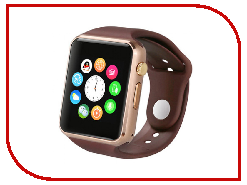 Умные часы Smart Watch A1 Gold smart baby watch q80 умные детские часы с gps голубые