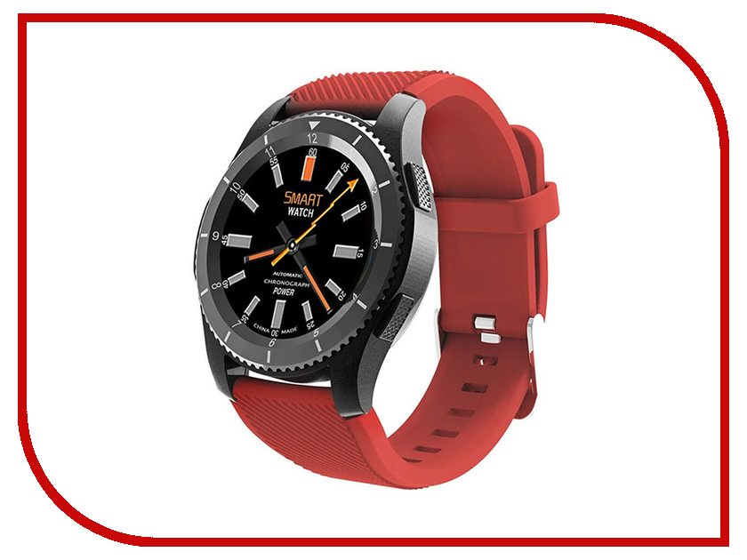 Умные часы Smart Watch G8 Red smart baby watch g72 умные детские часы с gps оранжевые