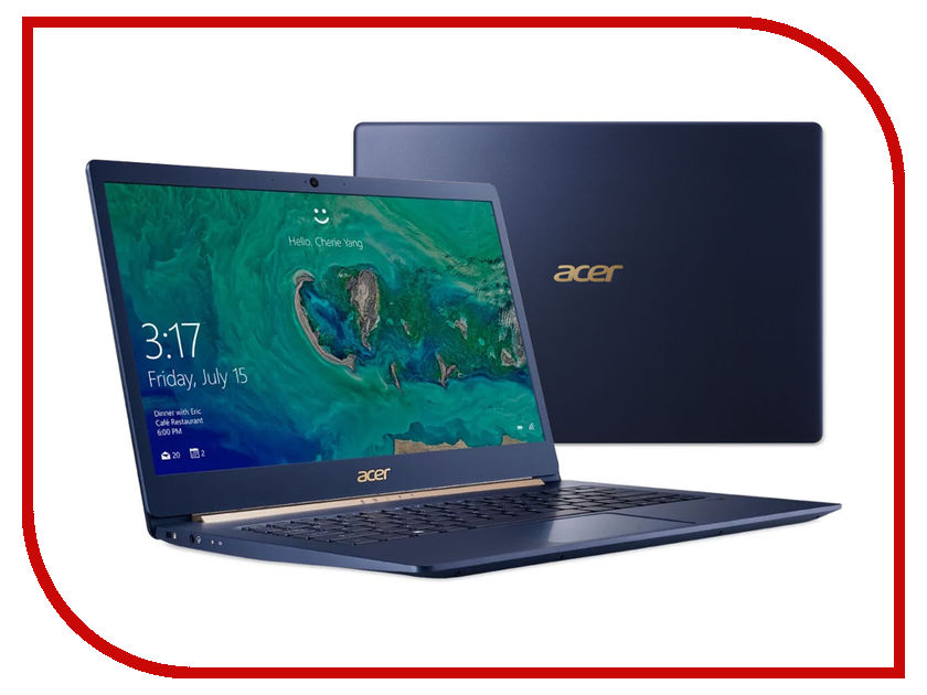 Ноутбук Acer Swift 5 SF514-52T-88W1 NX.GTMER.005 (Intel Core i7-8550U 1.8 GHz/16384Mb/512Gb SSD/No ODD/Intel HD Graphics/Wi-Fi/Bluetooth/Cam/14.0/1920x1080/Touchscreen/Windows 10 64-bit) ноутбук dell xps 13 9365 6232 intel core i7 7y75 1 3 ghz 16384mb 512gb ssd no odd intel hd graphics wi fi bluetooth cam 13 3 3200x1800 touchscreen windows 10 64 bit