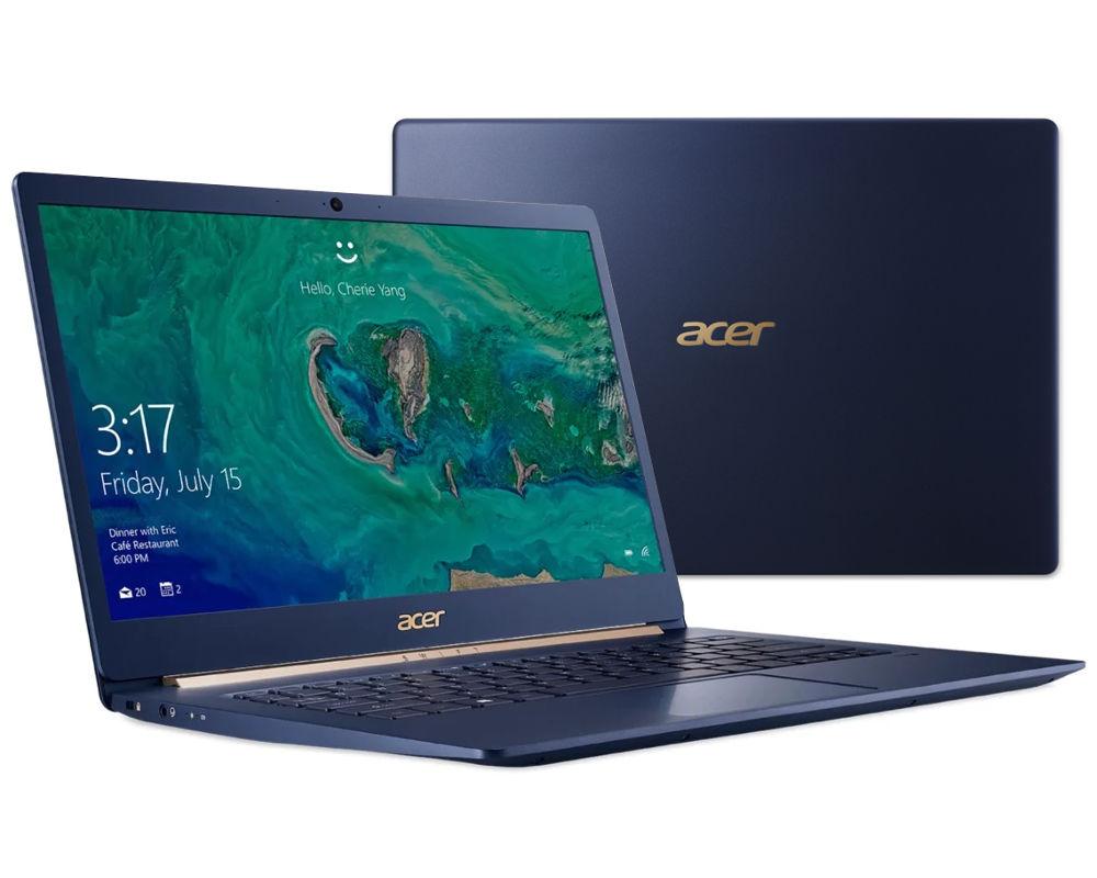 Ноутбук Acer Swift 5 SF514-52T-88W1 NX.GTMER.005 (Intel Core i7-8550U 1.8 GHz/16384Mb/512Gb SSD/No ODD/Intel HD Graphics/Wi-Fi/Bluetooth/Cam/14.0/1920x1080/Touchscreen/Windows 10 64-bit) цена