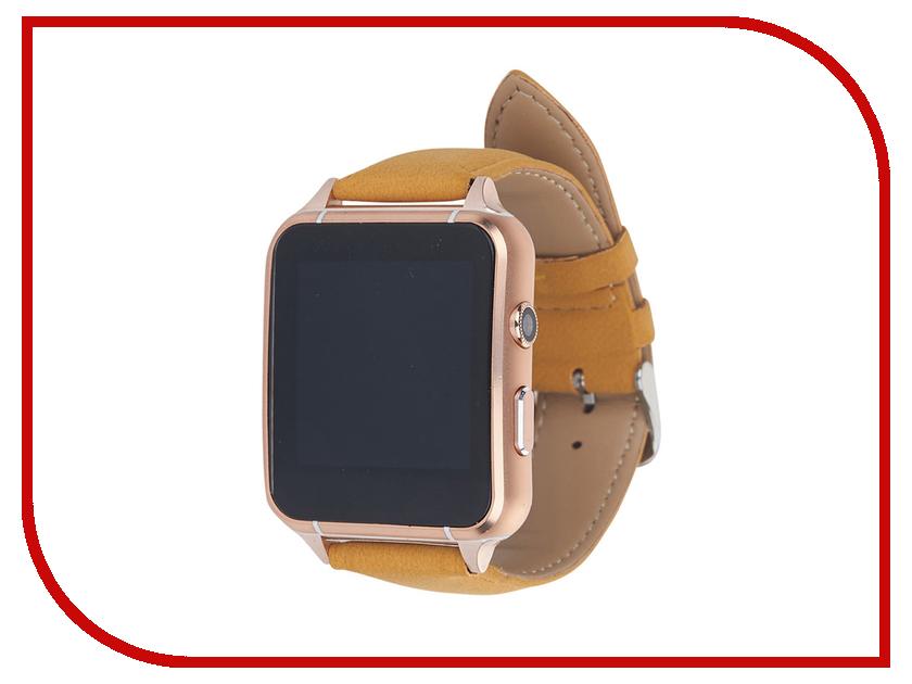 Умные часы Smart Watch X7 Gold smart baby watch q80 умные детские часы с gps голубые
