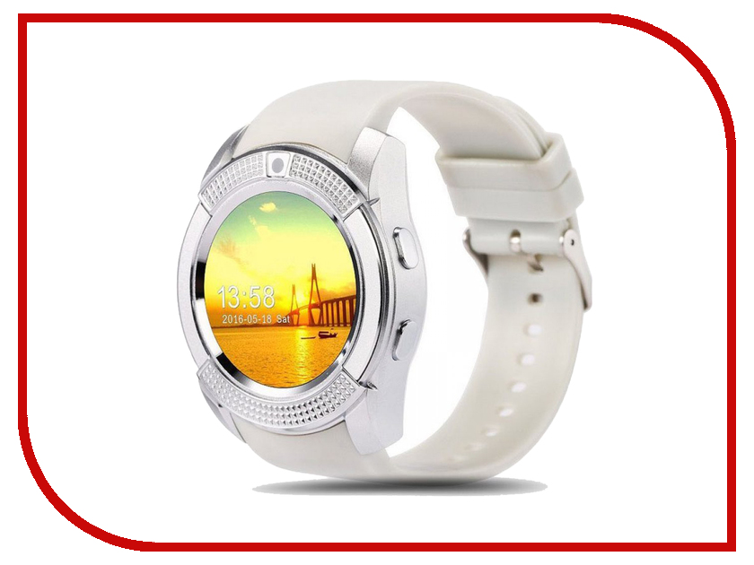Zakazat.ru: Умные часы Smart Watch V8 Silver