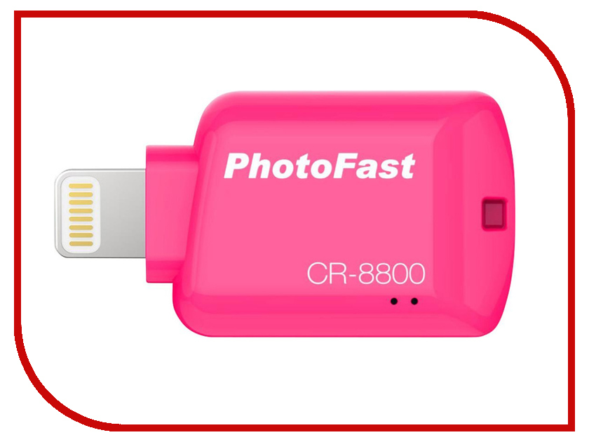 Картридер PhotoFast CR-8800R Red i flashdrive max 3 0 photofast