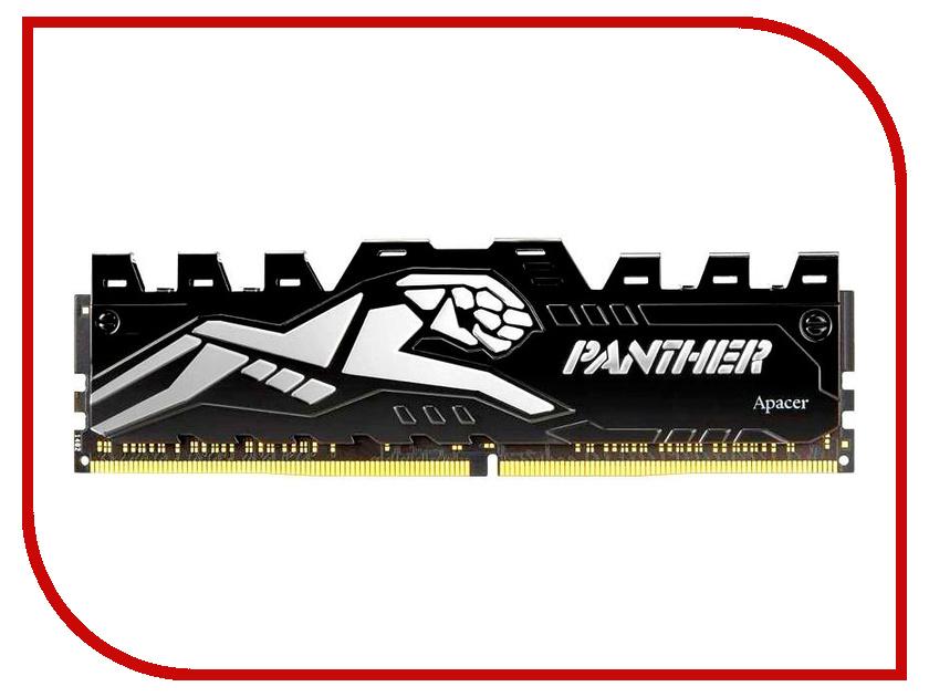 Модуль памяти Apacer Panther DIMM DDR4 3000MHz PC4-24000 CL16 - 8Gb Silver EK.08G2Z.GJF карта памяти apacer