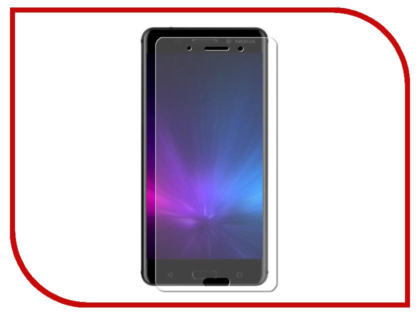 Аксессуар Защитная пленка Nokia 1 LuxCase суперпрозрачная 53428 защитная плёнка для nokia lumia 530 суперпрозрачная luxcase