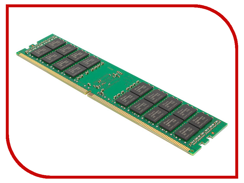 Модуль памяти Kingston DDR4 DIMM 2400MHz PC4-19200 CL17 - 16Gb KVR24R17D4/16 оперативная память kingston 16gb 2400mhz ddr4 dimm kvr24se17d8 16