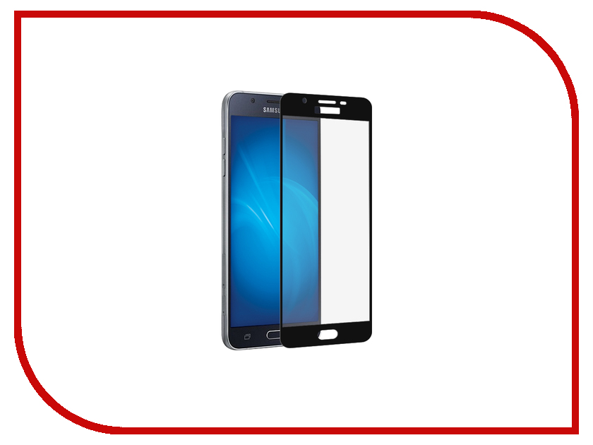 Аксессуар Защитное стекло Samsung Galaxy j5 Prime Innovation 2D Colorful Black 10086 аксессуар защитное стекло samsung galaxy a3 2017 solomon full cover black