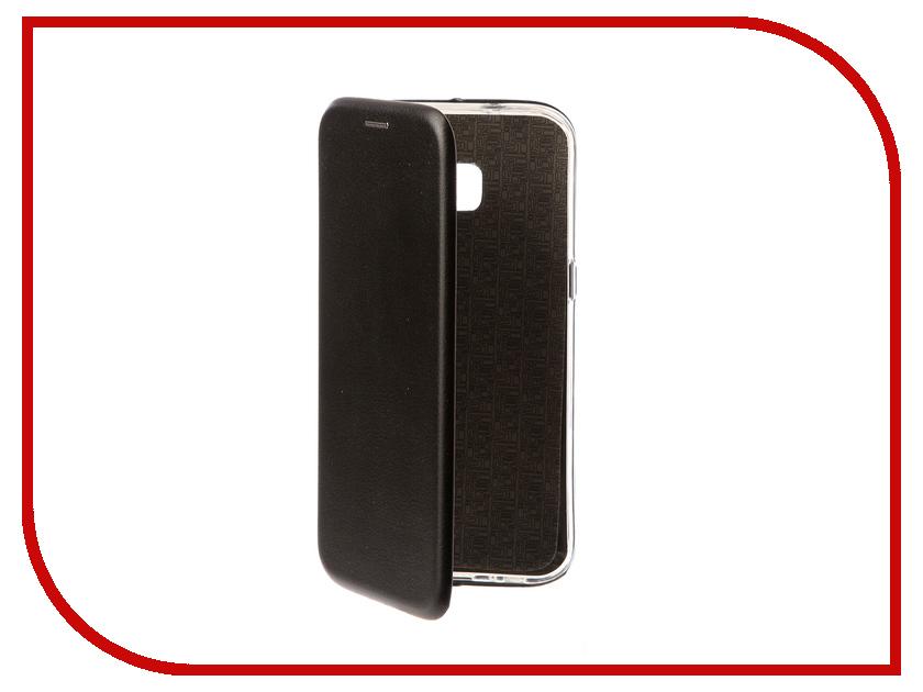 Аксессуар Чехол Samsung Galaxy S7 Edge Innovation Book Black 10531 аксессуар чехол samsung galaxy s7 edge g935f x level vintage beige 15440