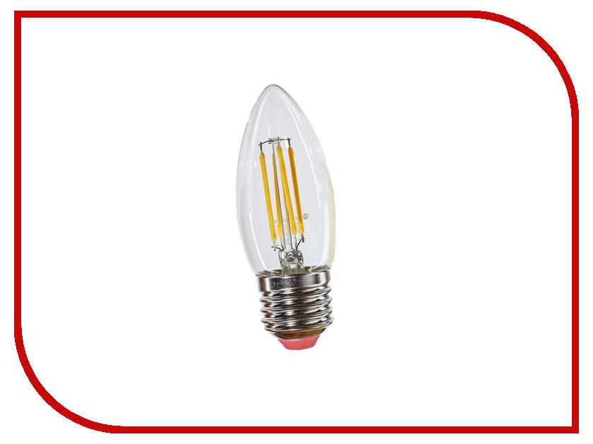 Лампочка Экономка Свеча 8W Е27 160-260V 2700K EcoLedFL8wCNE2727 лампочка экономка свеча на ветру 5w e14 230v 4500k eco led5wcwe1445