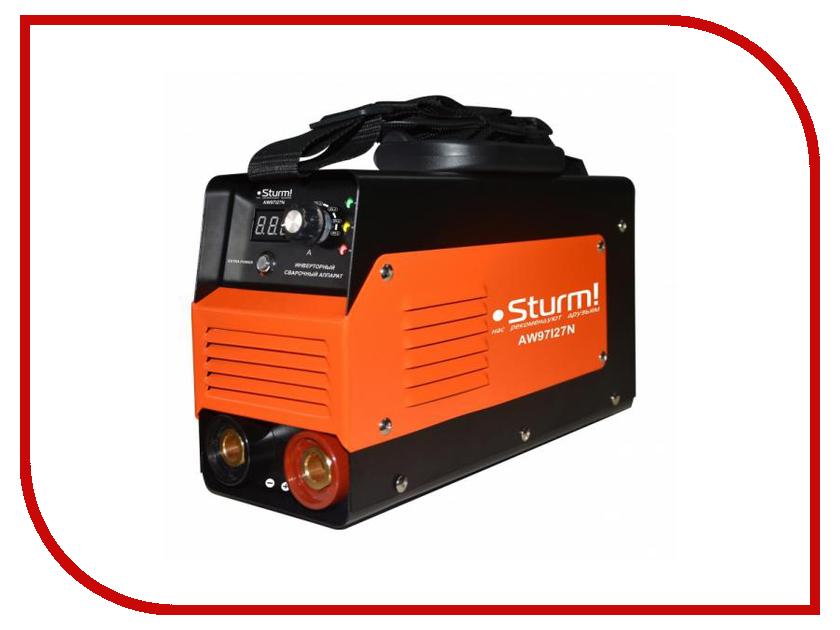 Сварочный аппарат Sturm! AW97I27N аппарат сварочный sturm aw97i125 инверторный