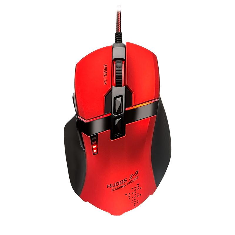 Мышь Speed-Link Kudos Z-9 Red SL-6391-RD-01 kudos titan t808