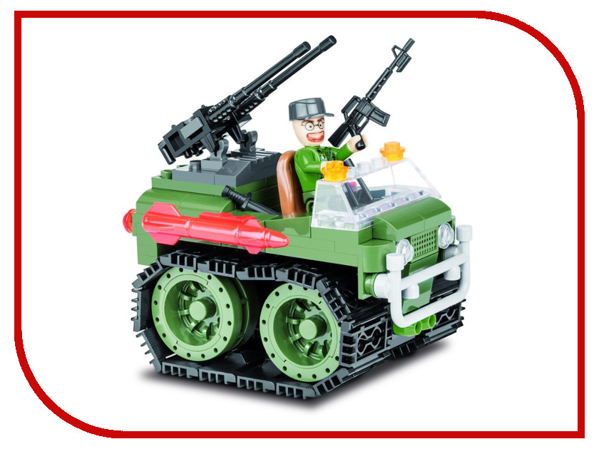 Конструктор Cobi Small Army Мобильная ракетная установка 140 дет. 2161 конструктор unicon ракетная установка 59 деталей 1800957