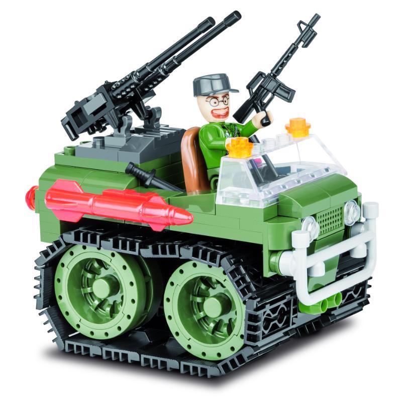 Конструктор Cobi Small Army Мобильная ракетная установка 140 дет. 2161