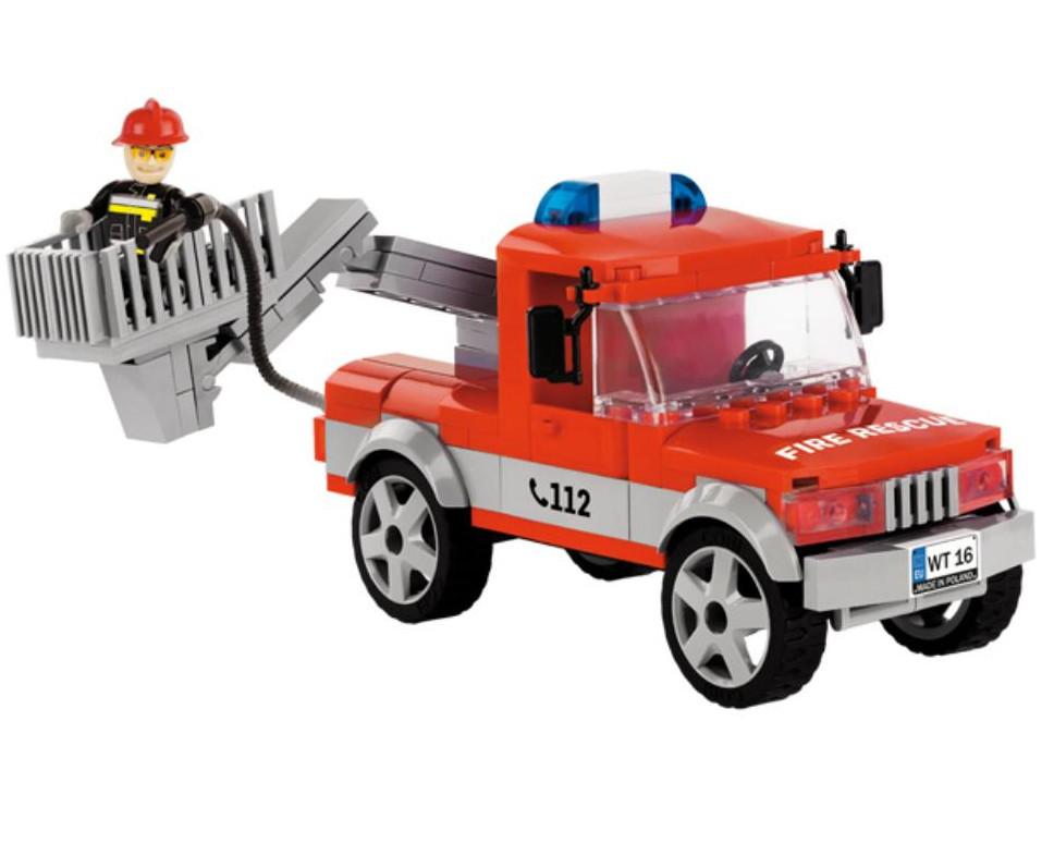 Конструктор Cobi Action Town Пожарный автомобиль 140 дет. 1479