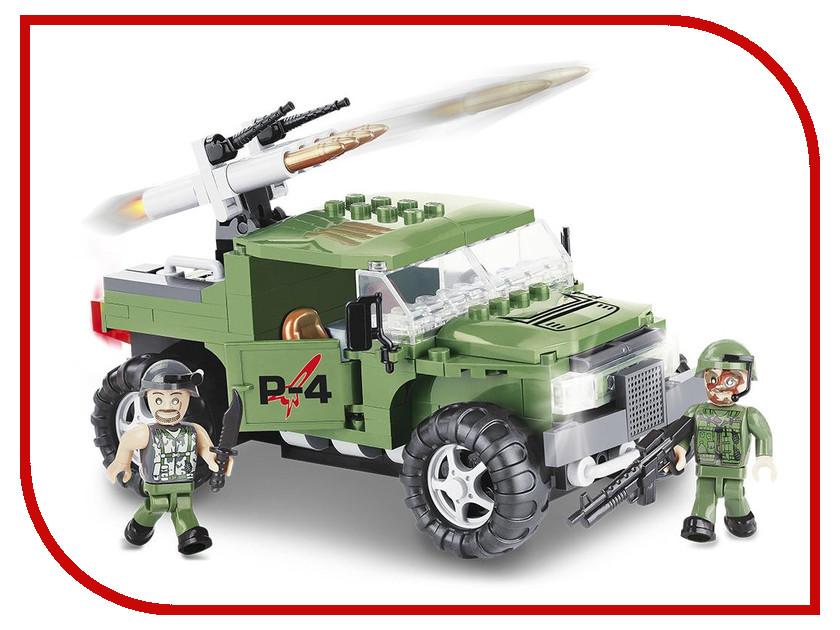 Конструктор Cobi Small Army Бронированый автомобиль P-4 200 дет. 2336
