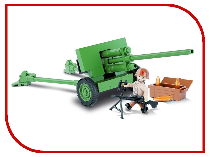 Конструктор Cobi Small Army World War II Пушка ЗИС-2 100 дет. 2169