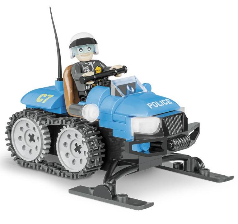 Конструктор Cobi Action Town Полицейский снегоход 100 дет. 1544