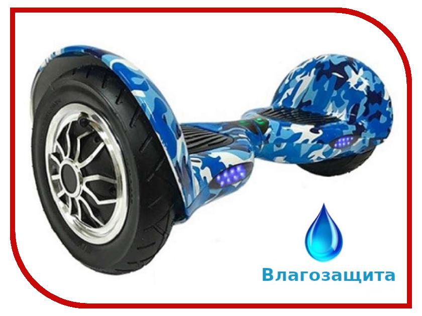 Гироскутер Asixbot Premium 10 TaoTao APP Самобалансировка + влагозащита Blue Khaki