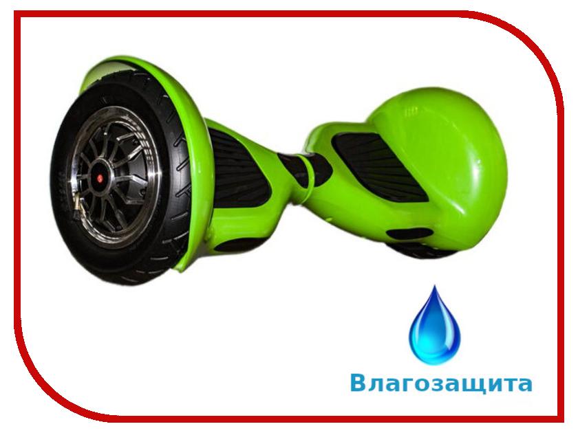 Гироскутер Asixbot Premium 10 TaoTao APP Самобалансировка + влагозащита Green