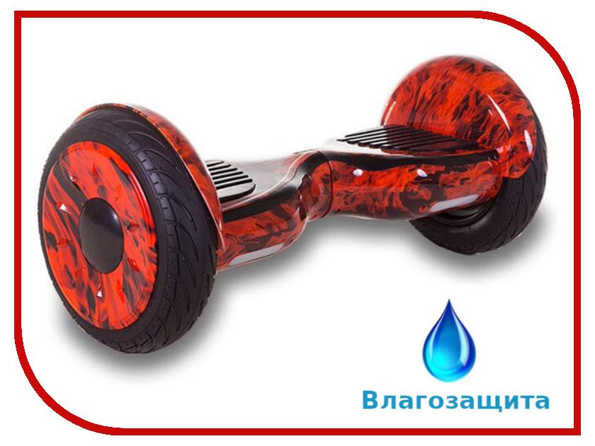 Гироскутер Asixbot Pro 10.5 TaoTao APP Самобалансировка + влагозащита Flame гироскутер smart balance pro 10 граффити оранжевый сумка bluetooth taotao самобаланс