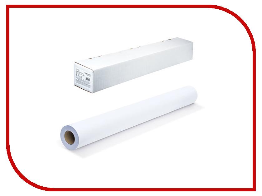 Бумага Рулон для плоттера 841mm x 45m втулка 50.8mm 90g/m2 110630 Brauberg