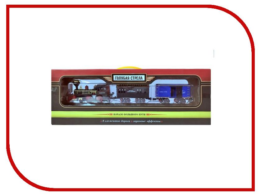 Игрушка Голубая стрела Пассажирский поезд 87302