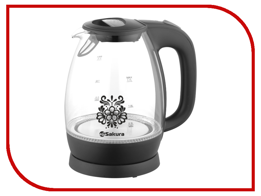 Чайник Sakura SA-2715BK чайник sakura sa 2033r
