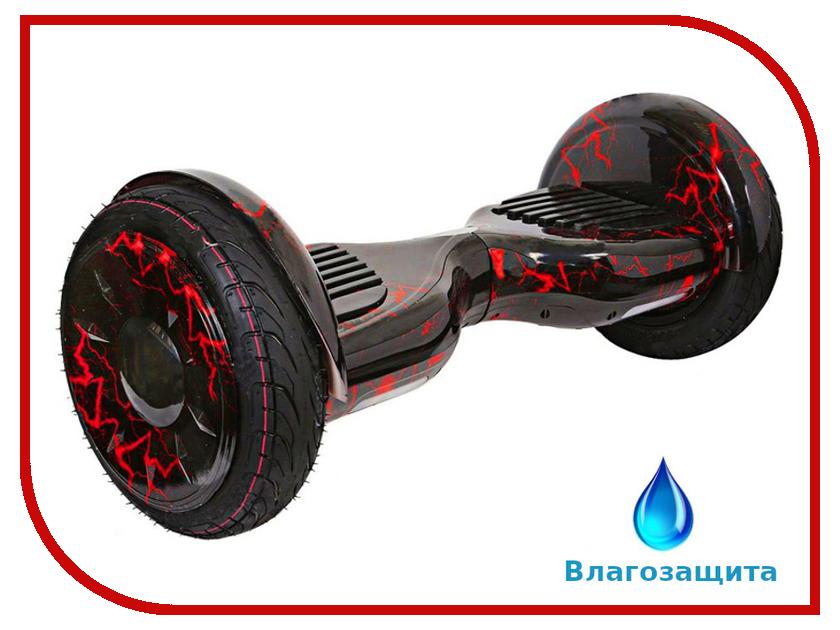 Гироскутер Asixbot Pro 10.5 TaoTao APP Самобалансировка + влагозащита Red Lightning